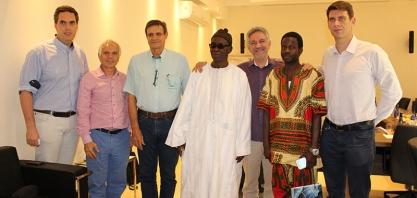 Sertãozinho recebe diretor geral da UNCA do Senegal
