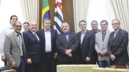 SETOR SUCROENERGÉTICO - CEISE Br e associados discutem APL com o vice-governador e secretário de Desenvolvimento de São Paulo, Márcio França