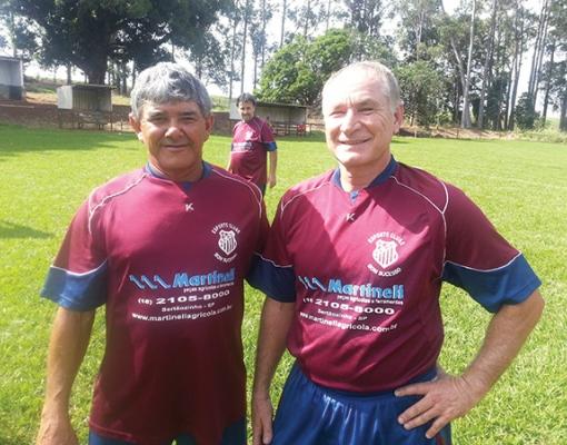 Zetinho e Erlei defendem as cores do Bonsucesso na competição