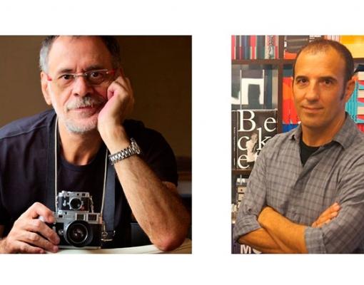 Os escritores Cláudio Martins (à esquerda) e Cadão Volpato, que estarão presentes no Festival Literário de Cruz das Posses