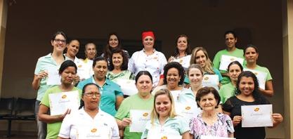 COMEMORAÇÃO - Destilaria Santa Inês presta homenagem às suas colaboradoras pela passagem do Dia Internacional da Mulher