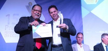 """Vereador Niltinho recebe prêmio """"Personalidade em Destaque"""""""