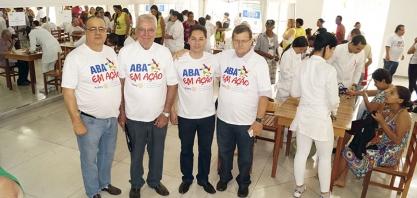 Vereador Niltinho participa do ABA em Ação
