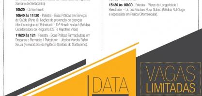 """SAÚDE - Sertãozinho comemora o """"1º Dia Nacional da Vigilância Sanitária"""" com ciclo de palestras"""