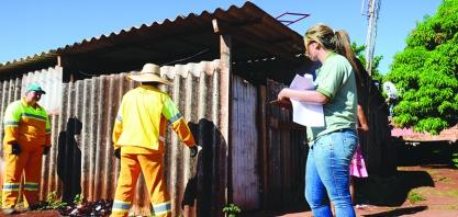 """""""Arrastão Contra a Dengue"""" é realizado em Cruz das Posses"""