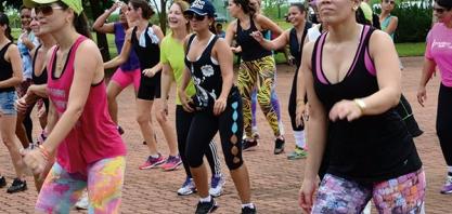 ESPORTE E LAZER - Parque Ecológico terá nova aula de zumba neste domingo
