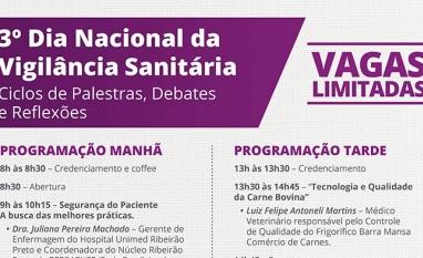 SAÚDE - Ciclo de palestras discute aspectos da Vigilância Sanitária em Sertãozinho