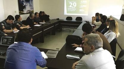 FEIRA INTERNACIONAL - Comissão Operacional Fenasucro & Agrocana conhece infraestrutura da feira