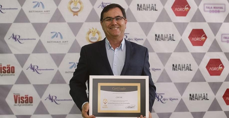 HOMENAGEM - CEISE Br recebe Prêmio Excelência 2017