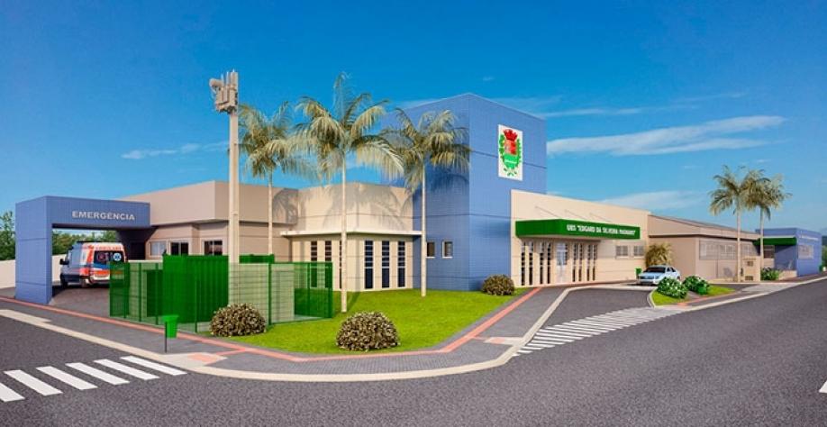 Maquete virtual ilustra como ficará o Complexo de Saúde depois de pronto