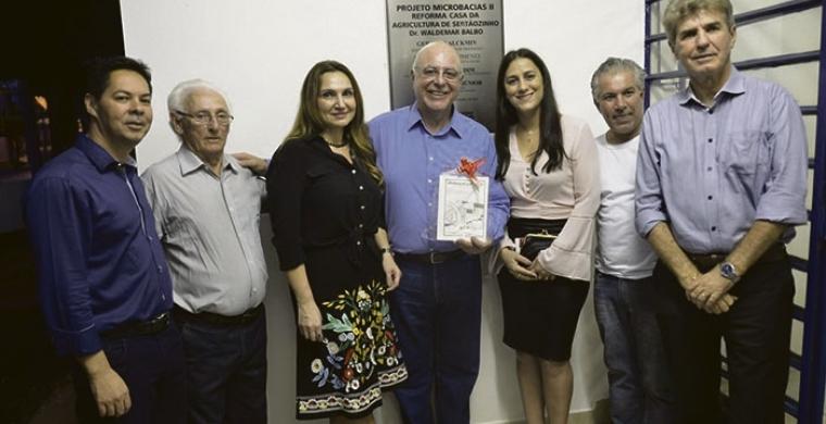 INAUGURAÇÃO - Casa da Agricultura de Sertãozinho é entregue pelo secretário Arnaldo Jardim