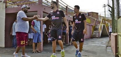 SERTÃOZINHO FC - Com torcida presente, Touro inicia trabalhos para Série A2