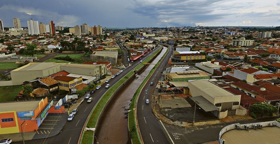 Cerimônia de entrega da 1ª etapa da obra de Macrodrenagem do Córrego Sul acontece no dia 07, às 18h