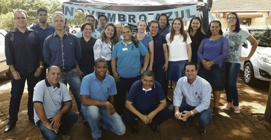 Novembro Azul: Destilaria Santa Inês realizou, durante todo o mês de novembro, ações de conscientização aos funcionários da empresa sobre o Câncer de Próstata