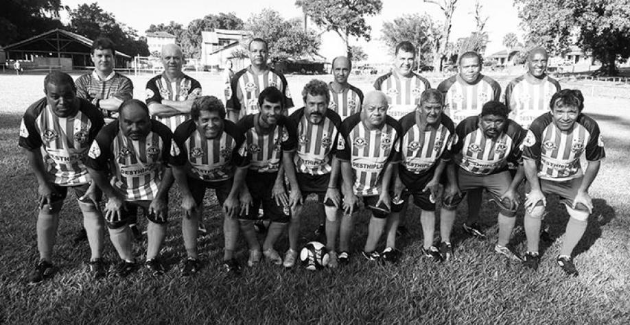 A equipe Popular empatou com o Guarani na última rodada