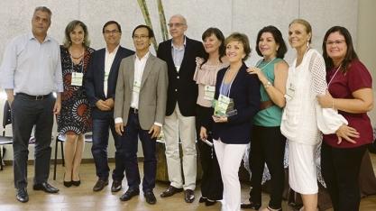 HOMENAGEM - Diretoria do CEISE Br participa do Cana Substantivo Feminino
