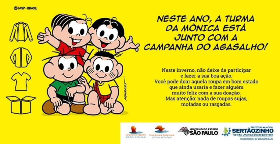 SOLIDARIEDADE - Fundo Social de Sertãozinho lança sua Campanha do Agasalho no dia 18