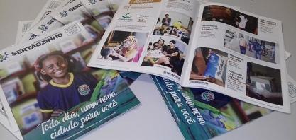 GESTÃO PÚBLICA - População passa a receber a Revista de Prestação de Contas da Administração Municipal, neste final de semana