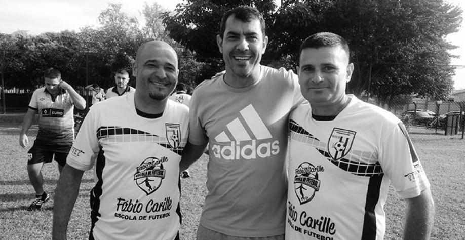 Fábio Carille juntamente com Júlio Delboni e Vadinho