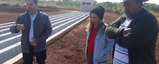 INSPEÇÃO - Cruz das Posses tem obras vistoriadas por representantes do Executivo e do Legislativo Municipal