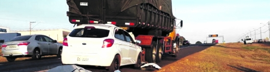 Homem de 43 anos morre em acidente na Rodovia Atílio Balbo (SP-333)