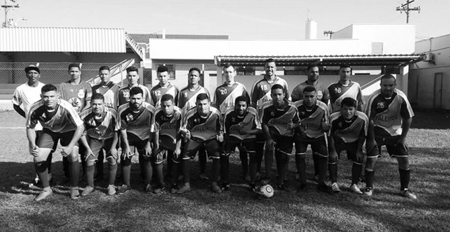 A equipe do Meninos da Vila venceu a equipe do PSV no último domingo