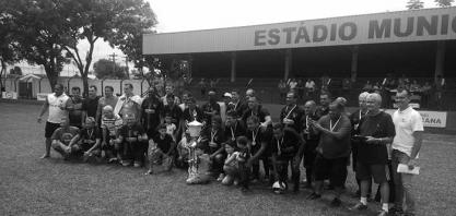 Campeonato Sênior e Copa Máster - No Sênior o São Paulinho é o campeão da temporada 2018 e com méritos