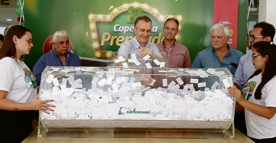 PROMOÇÃO - Primeiro sorteio da 'Copercana Premiada' aconteceu nessa semana