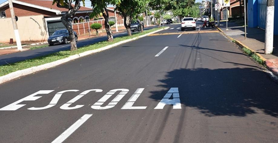 Referência na qualidade de conservação do asfalto de suas vias, município de Sertãozinho também se preocupa com a qualidade da sinalização de trânsito