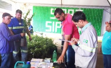 CONSCIENTIZAÇÃO - Secretaria de Meio Ambiente participa da SIPAT da Usina Santa Elisa