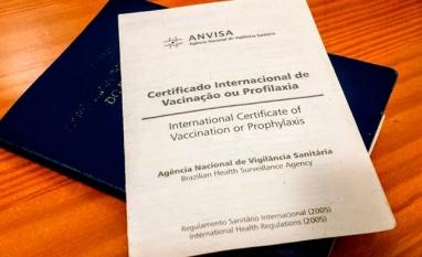 Saiba como emitir o Certificado Internacional de Vacinação ou Profilaxia