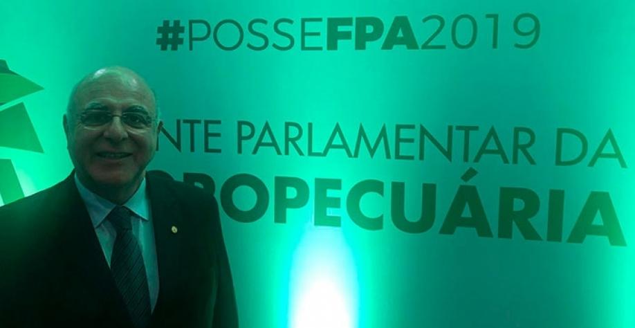 Arnaldo Jardim Assume Vice-Precidência na frente parlamentar da Agropecuária
