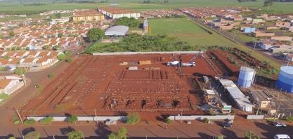Obra para construção de escola no bairro José Garcia da Costa segue em andamento