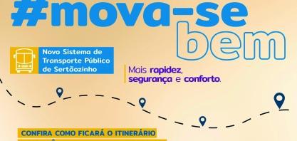 MOVA-SE BEM - Novo Sistema de Transporte Público passa a operar neste domingo, dia 10