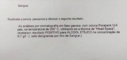 Jovem envolvida em colisão que matou mulher em Sertãozinho bebeu antes de dirigir, diz laudo