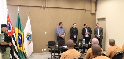 Parceria entre CDP de Pontal e prefeitura possibilita trabalho para presos do regime fechado