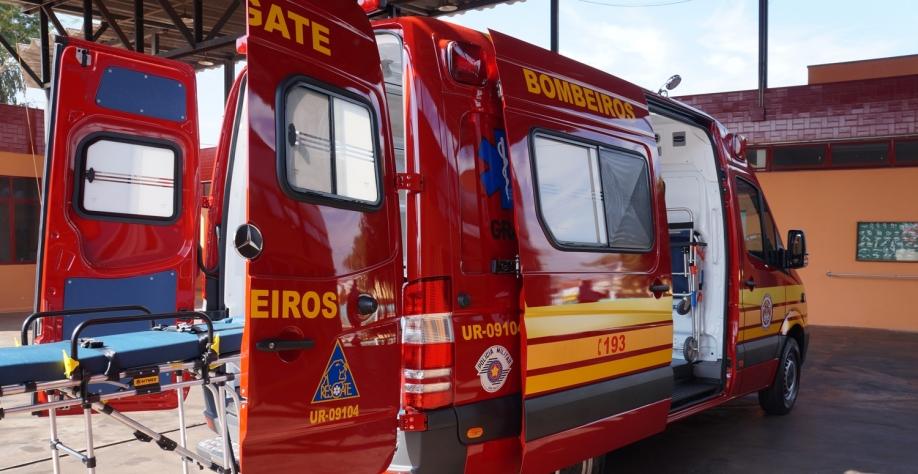 Corpo de Bombeiros de Sertãozinho recebe novas viaturas