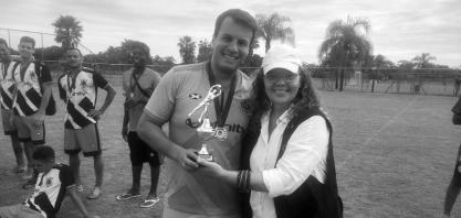 Torneio 1º de Maio - Joaquim Francisco Sorreiçao (in memoriam) XV de Novembro foi o grande campeão