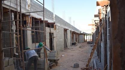 Obra para construção de creche no Conjunto Habitacional Anélio Celline está em estágio avançado