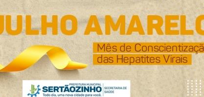 Julho Amarelo: Dia D acontece neste sábado, na Vila Áurea, com testes rápidos de hepatites virais