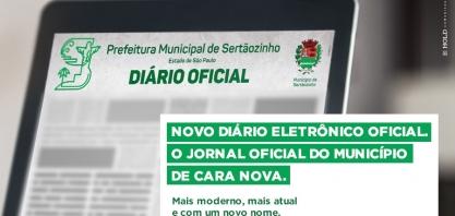 Município terá Diário Eletrônico Oficial a partir do dia 1º de agosto