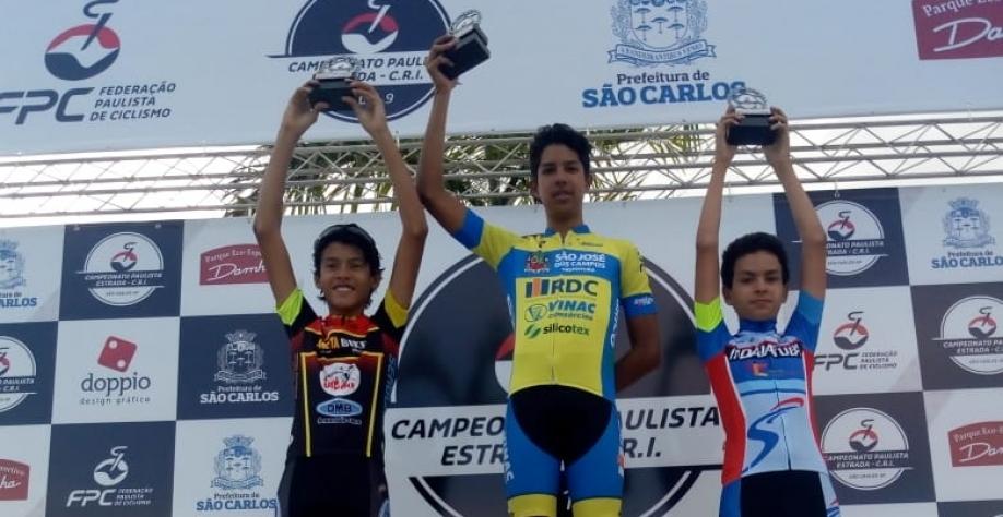 Cidade de Sertãozinho é vice-campeã paulista de ciclismo