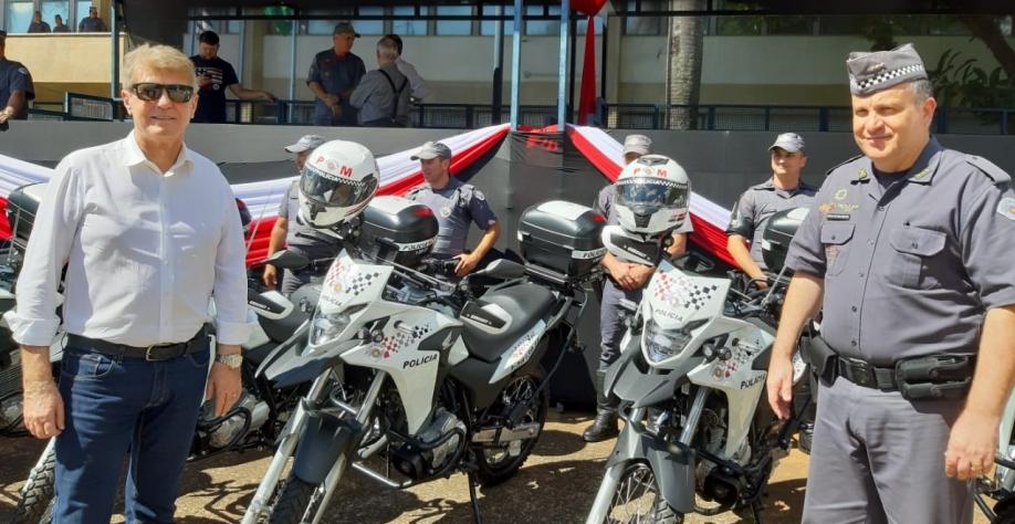 Sertãozinho é beneficiada com viaturas cedidas pelo Governo do Estado