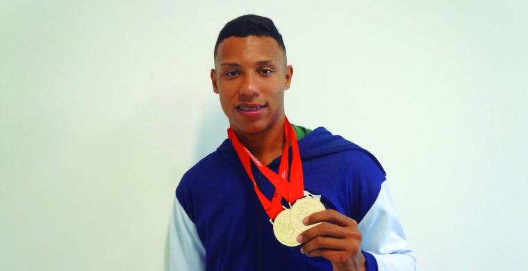 Atleta sertanezino é ouro no Mundial Paralímpico Sub-17