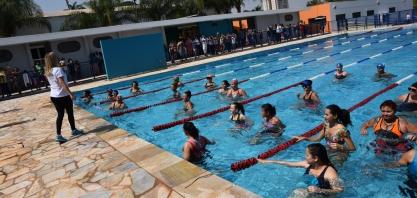 Piscina do Centro Esportivo Mogiana é reaberta à população