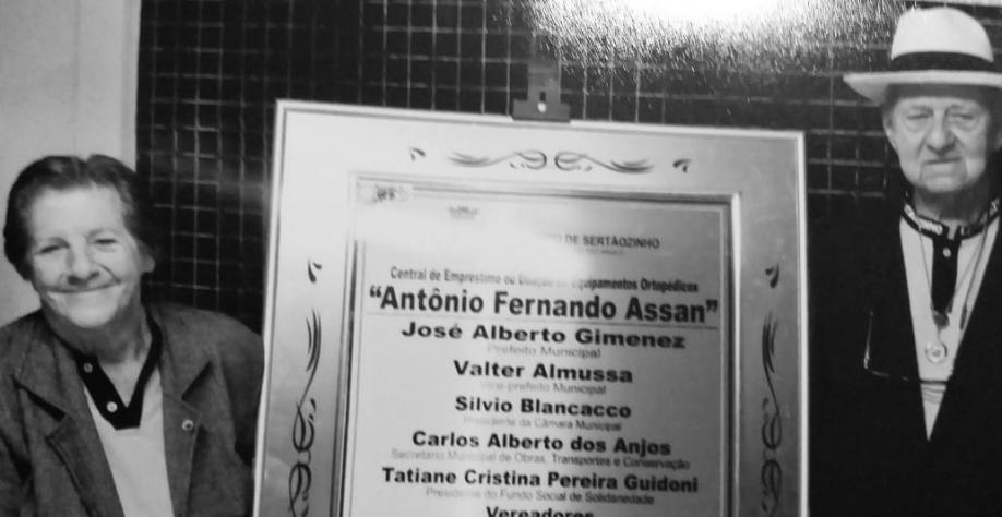 FALECEU O QUERIDO CLMJ ANTÔNIO FERNANDO ASSAN