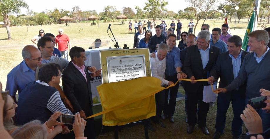 Cidade Mirim de Educação para o Trânsito é inaugurada em Sertãozinho