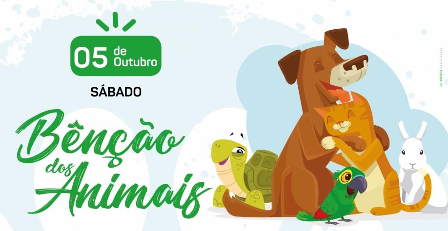 Parque do Cristo Salvador terá bênção para os animais neste sábado
