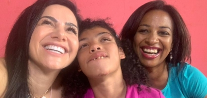Dra Rita realiza visitas e promove mais uma ação social