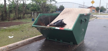 Caçambas comunitárias: saiba como usar e ajude a manter a cidade limpa